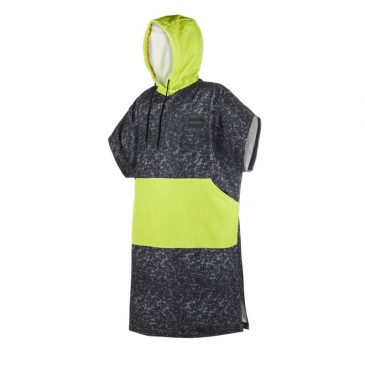 Poncho Mystic 2019 - Allover Black-Lime