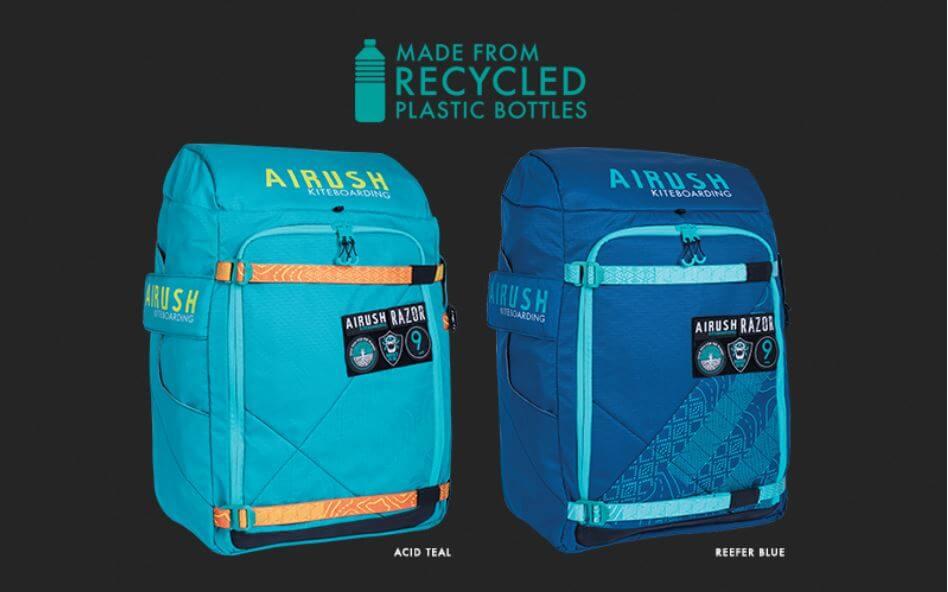 Plecaki Airush - materiał z recyklingu