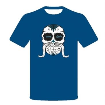 Wave Tribe – Skull – Organic T-shirt