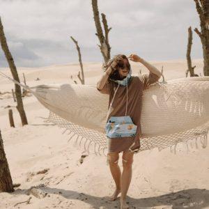 Ponczo plażowe moki surfsistas