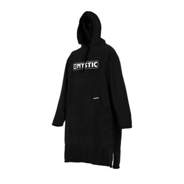 Poncho Mystic - long - black-grey
