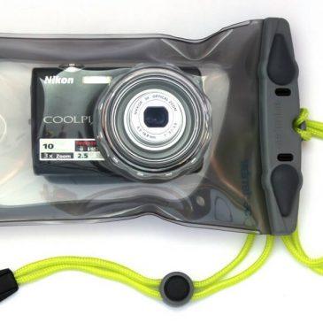 Pokrowiec etui wodoodporne na aparat - Aquapac AQ428 - front
