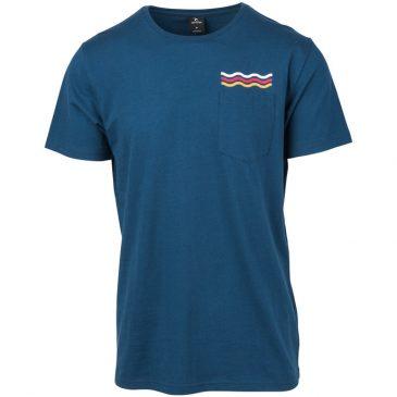 Koszulka Rip Curl 2019 Wavy Rainbow Navy