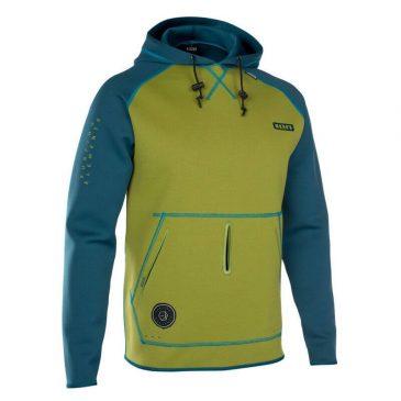 Bluza Neoprenowa ION Hoody Lite - Marine-Olive-Green - zielona