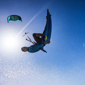 Deska kite Shinn Pinbot RX3 - akcja