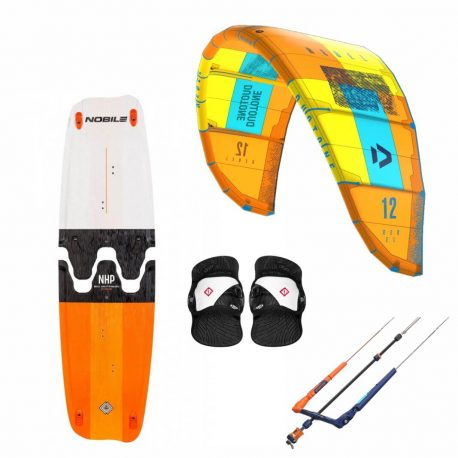 Zestaw do kitesurfingu - Duotone Rebel-Dive 2019