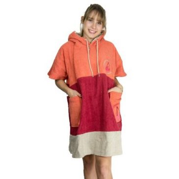 Poncho surferskie - WAVE HAWAII Ponchino Seta