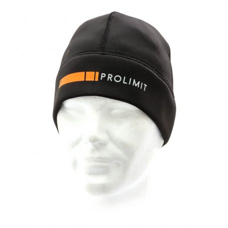 Czapka neoprenowa Prolimit PLT DL Beanie - Black-Orange