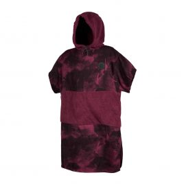 Poncho Mystic Allover 2020 - Oxblood Red