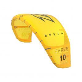 Latawiec NKB North Carve - Yellow - żółty