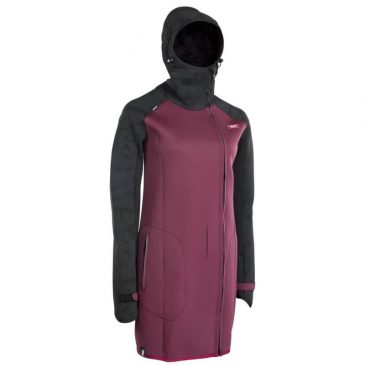 Płaszcz neoprenowy ION 48903-4102 Cosy Coat Amp - Black-Cherry