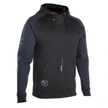 Bluza neoprenowa ION Hoodie Black-Red 48202-4106