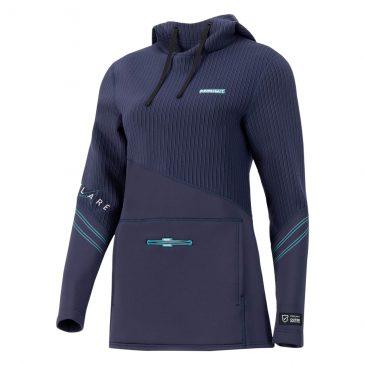Damska bluza neoprenowa Prolimit Flare - Navy-Turquise