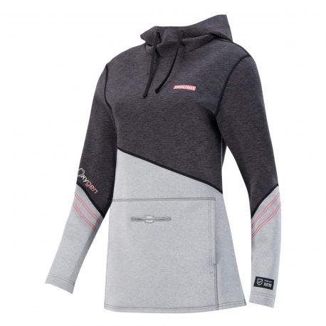 Damska bluza neoprenowa Prolimit Oxygen - Black-Grey