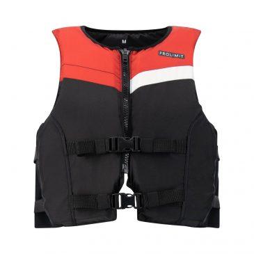 Kamizelka asekuracyjna Prolimit Floating Vest Freeride - black-red